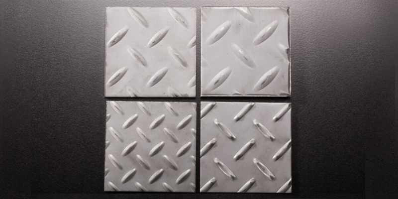 Stainless Steel Checkered Sheets