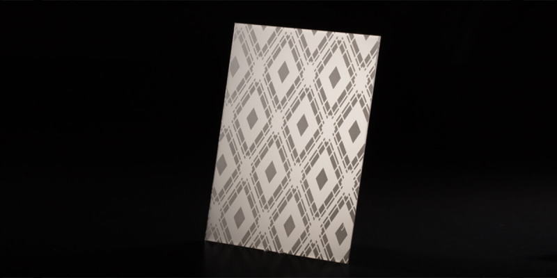 Etched Finish Stainless Steel Sheet