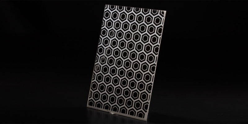 Decorative Stainless Steel Plate Sheet With Etched Finish