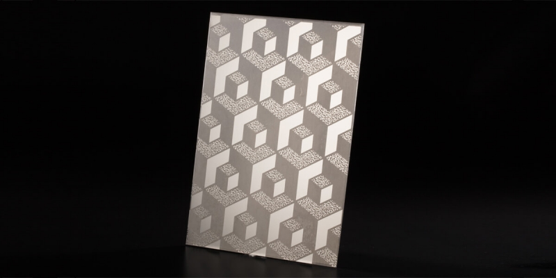 Etching Stainless Steel Sheet